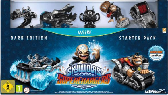 Skylanders SuperChargers: Starter Pack - Dark Edition (Nintendo Wii U) für 34,99 Euro