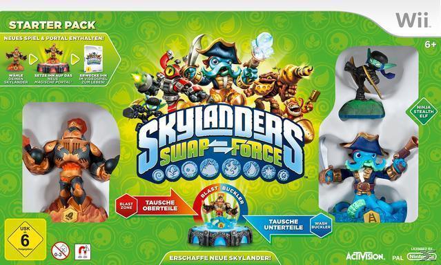 Skylanders Swap Force - Starter Pack (Nintendo WII) für 29,00 Euro