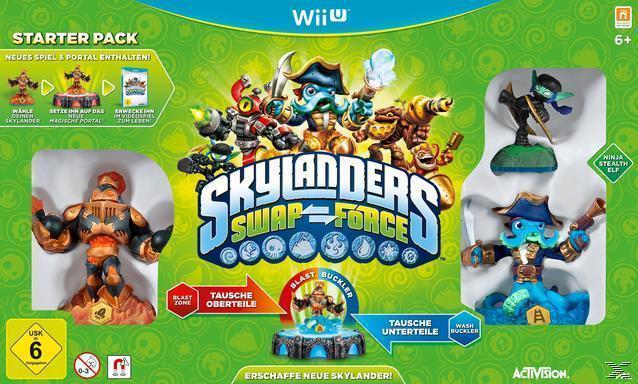 Skylanders Swap Force - Starter Pack (Nintendo Wii U) für 74,99 Euro