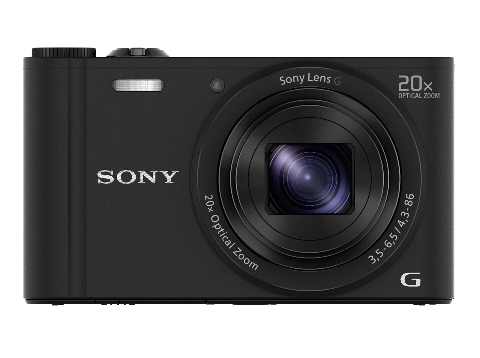 Sony DSC-WX 350 B Kompaktkamera 7,5cm/3'' 18,2MP WLAN Full-HD für 179,00 Euro