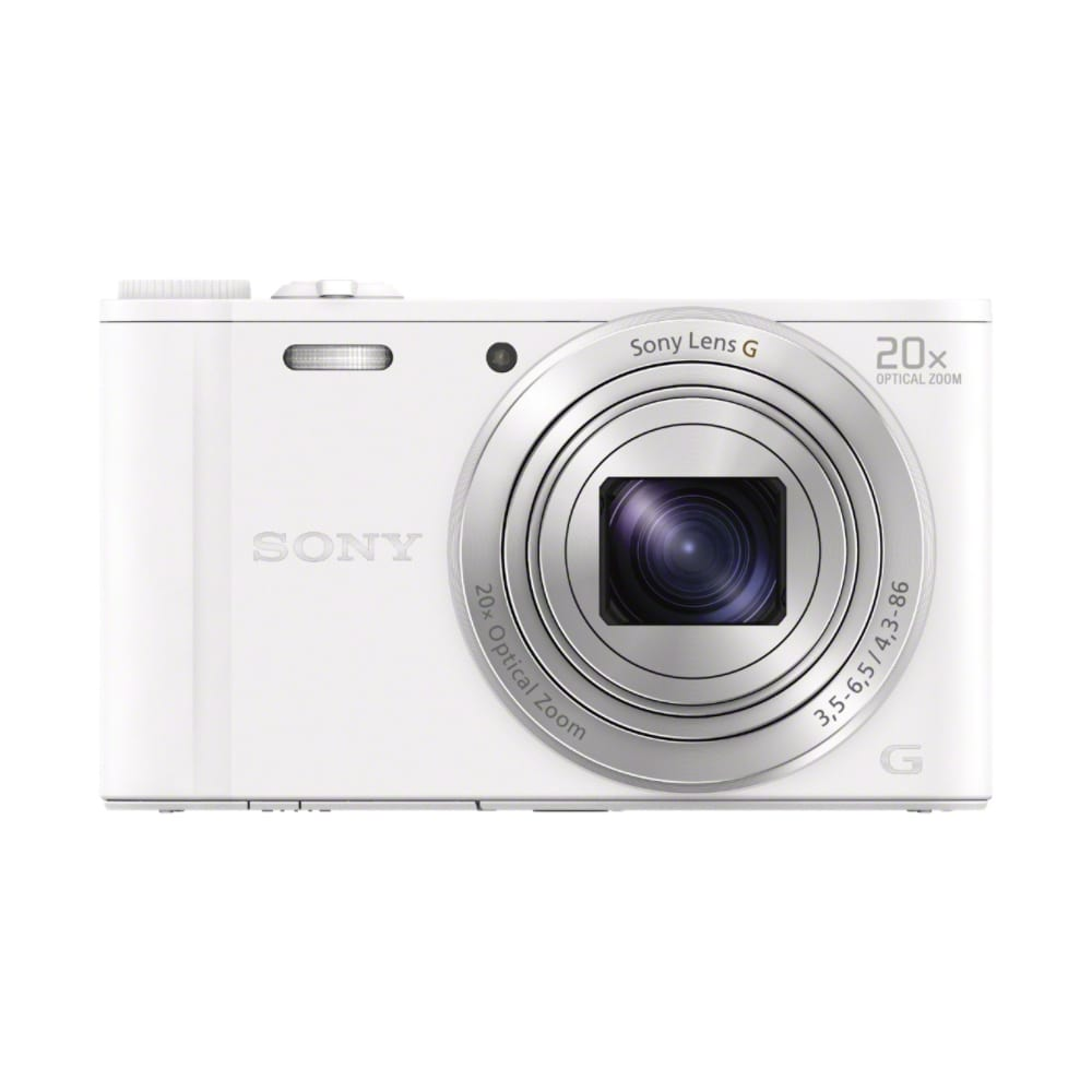 Sony DSC-WX 350 W Kompaktkamera 7,5cm/3'' 18,2MP WLAN Full-HD für 209,00 Euro