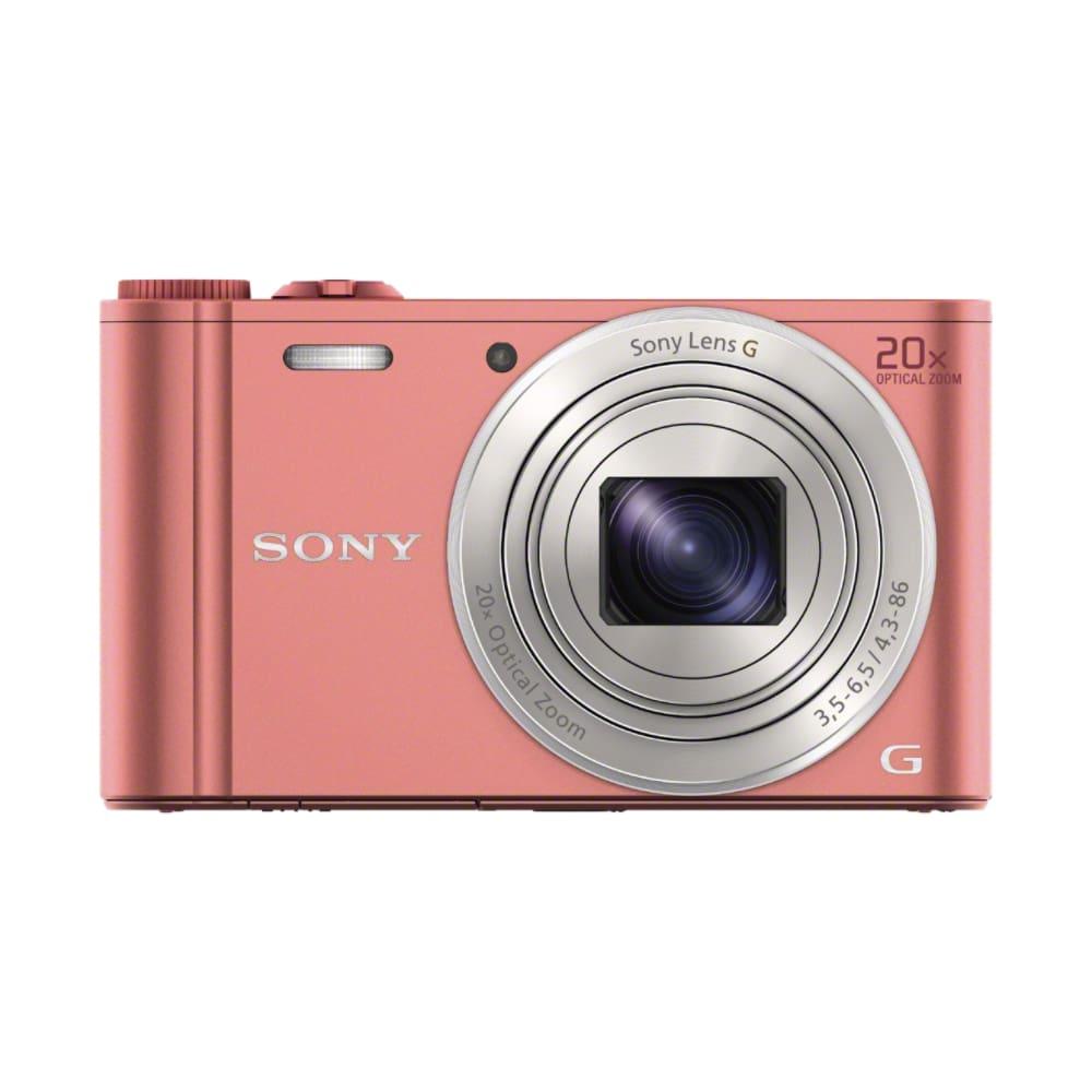 Sony DSC-WX 350 P Kompaktkamera 7,5cm/3'' 18,2MP WLAN Full-HD für 189,00 Euro