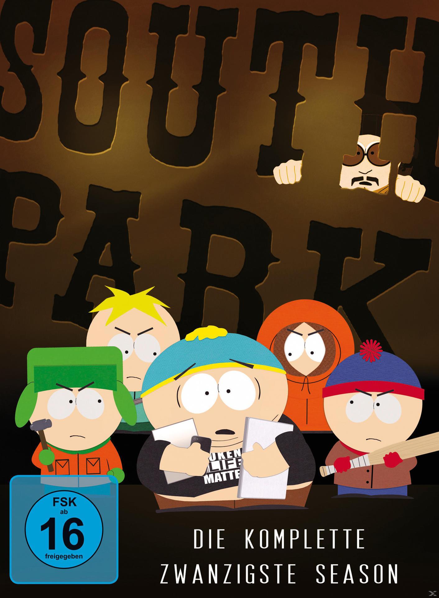 South Park - Season 20 - 2 Disc DVD (DVD) für 29,99 Euro