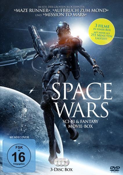Space Wars - Movie-Box DVD-Box (DVD) für 9,99 Euro