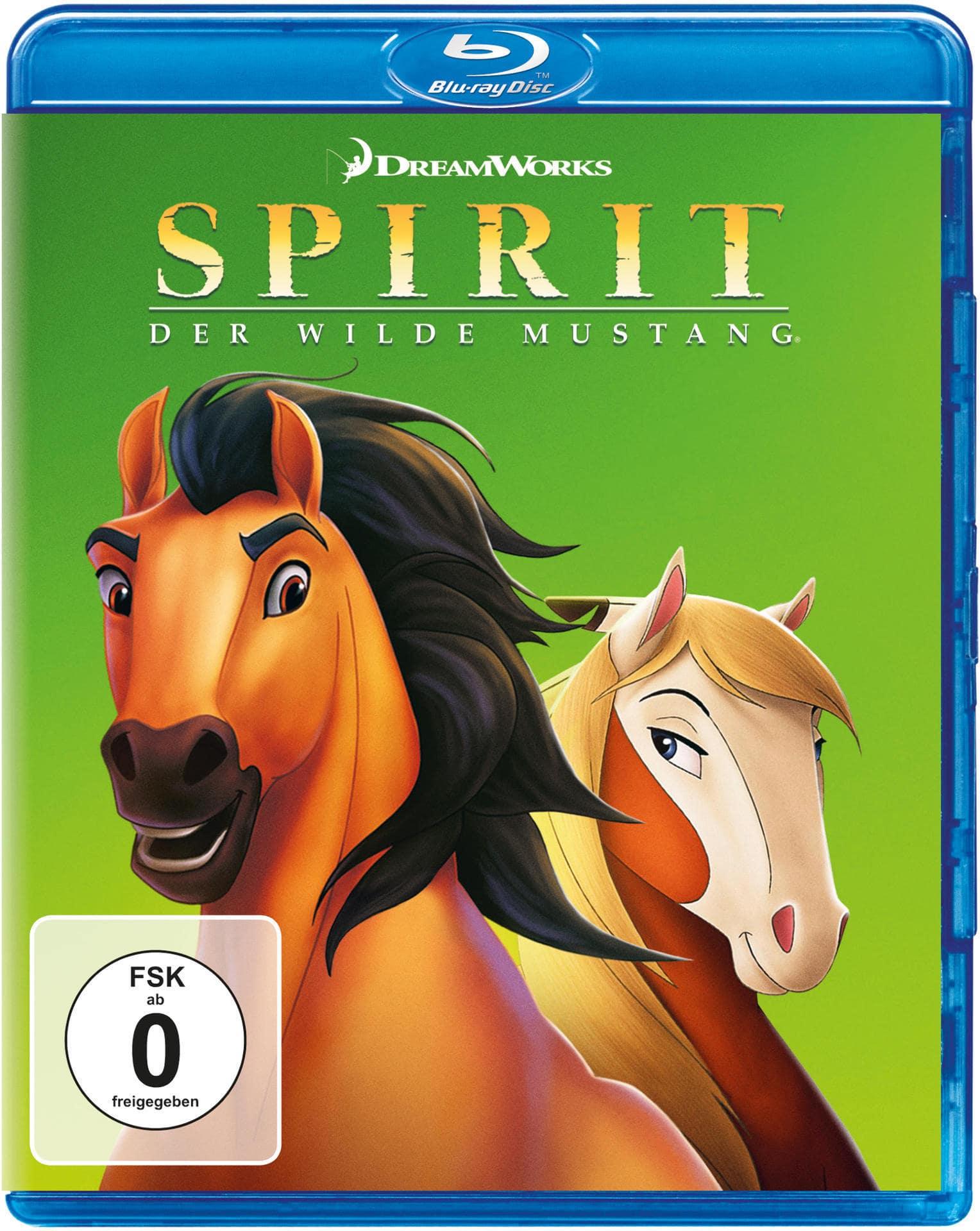 Spirit - Der wilde Mustang (BLU-RAY) für 8,99 Euro