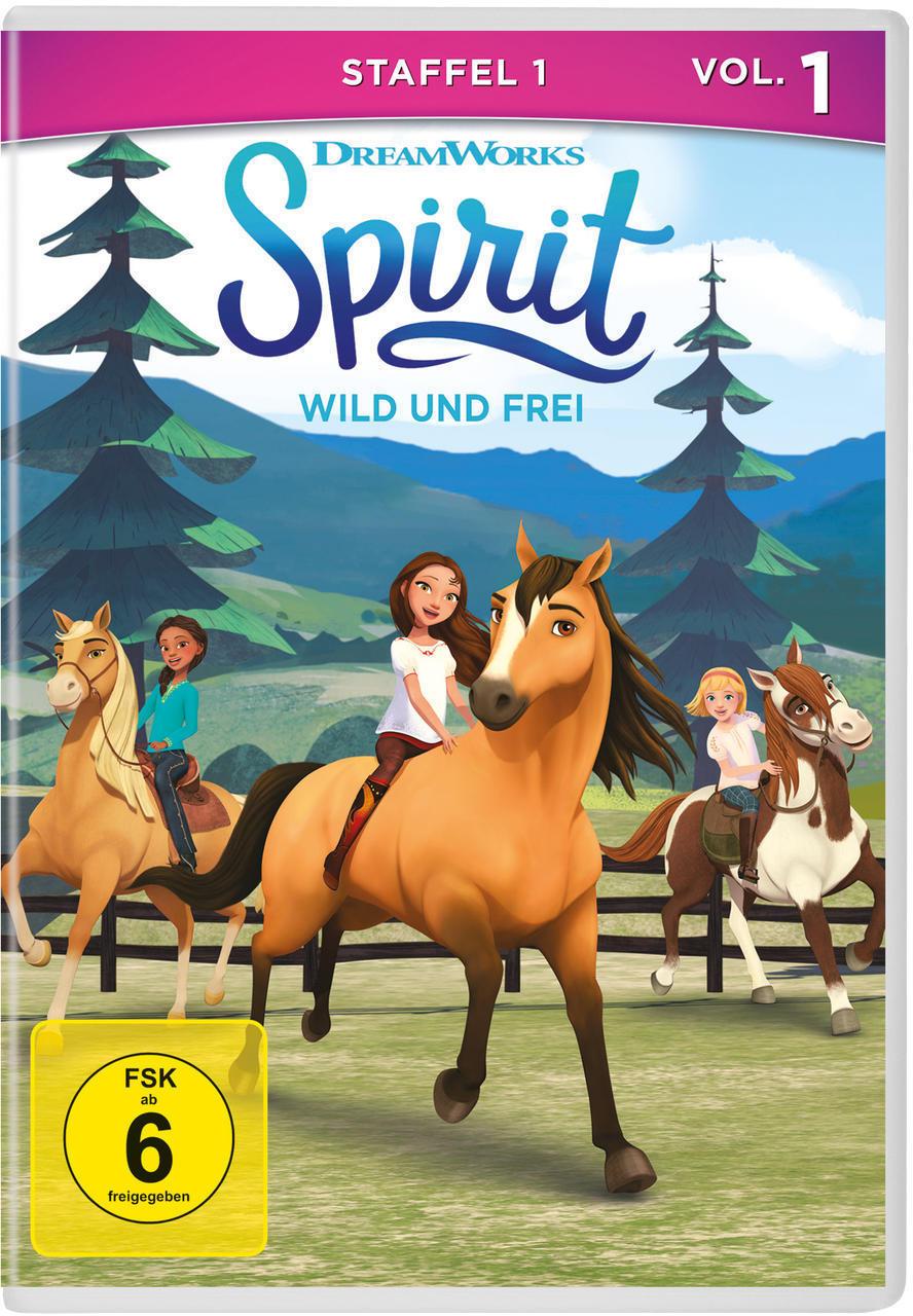Spirit: Wild und frei - Staffel 1, Vol. 1 (DVD) für 8,99 Euro