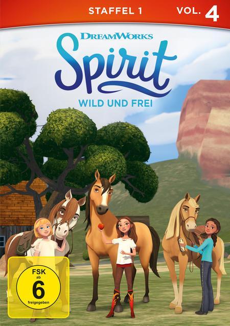 Spirit: Wild und frei - Staffel 1, Vol.4 (DVD) für 8,99 Euro