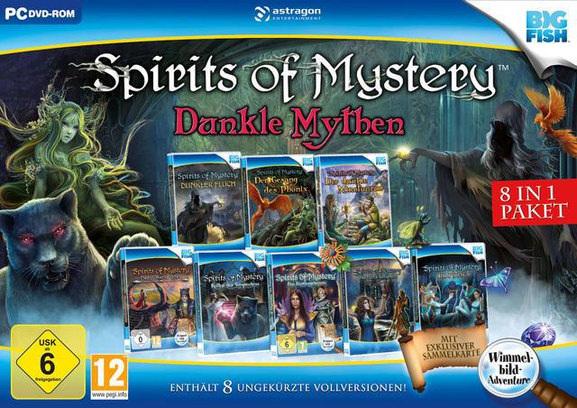 Spirits of Mystery: Dunkle Mythen 8 in 1 Paket (PC) für 14,61 Euro