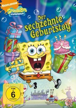SpongeBob - Der sechzehnte Geburtstag (DVD) für 7,99 Euro