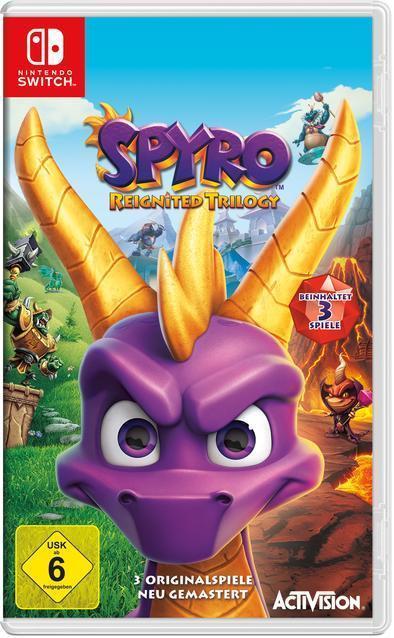 Spyro Reignited Trilogy (Nintendo Switch) für 34,99 Euro