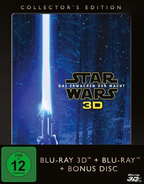 Star Wars: Das Erwachen der Macht Collector's Edition (BLU-RAY 3D/2D) für 19,99 Euro