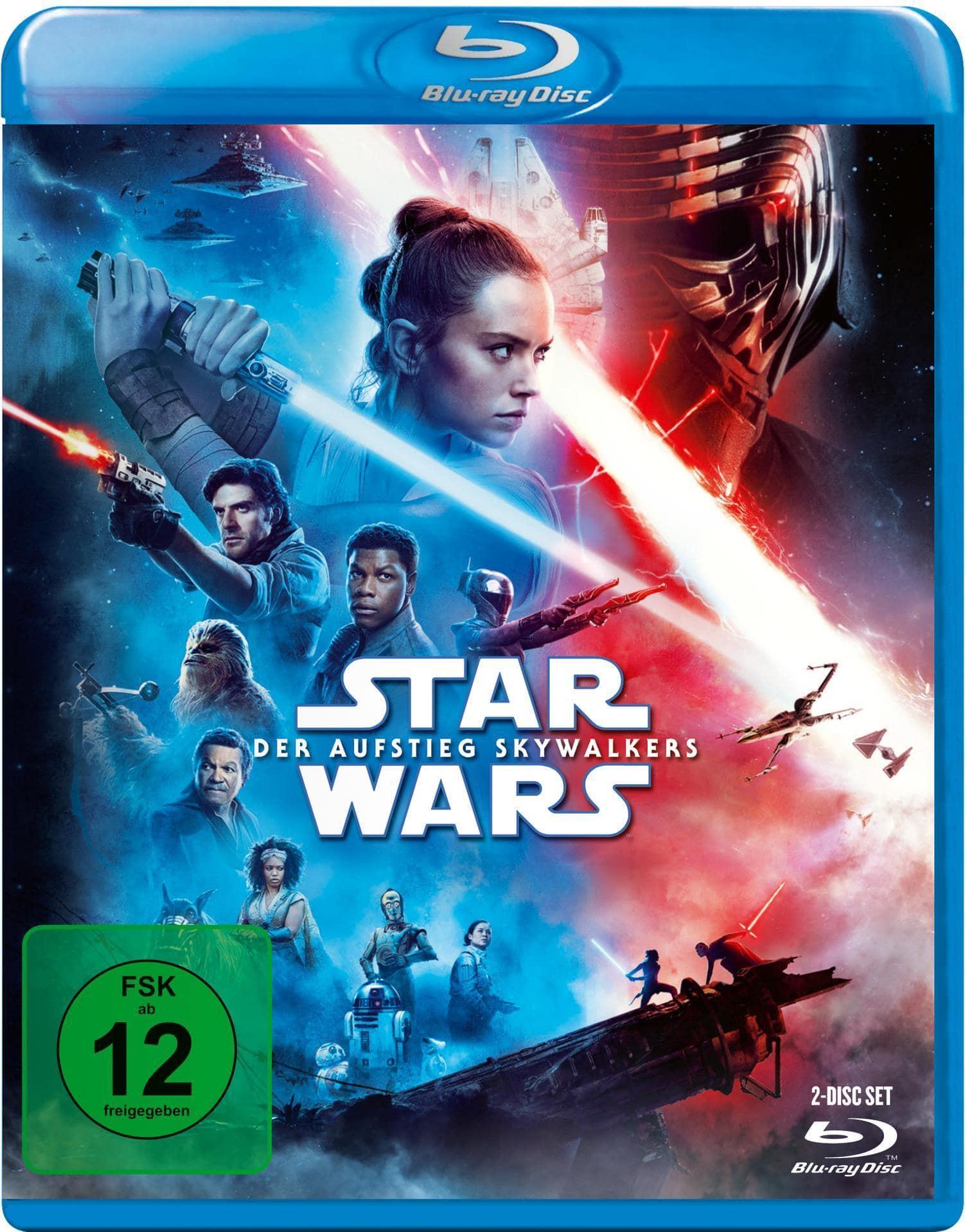 Star Wars: Der Aufstieg Skywalkers - 2 Disc Bluray (BLU-RAY) für 22,99 Euro