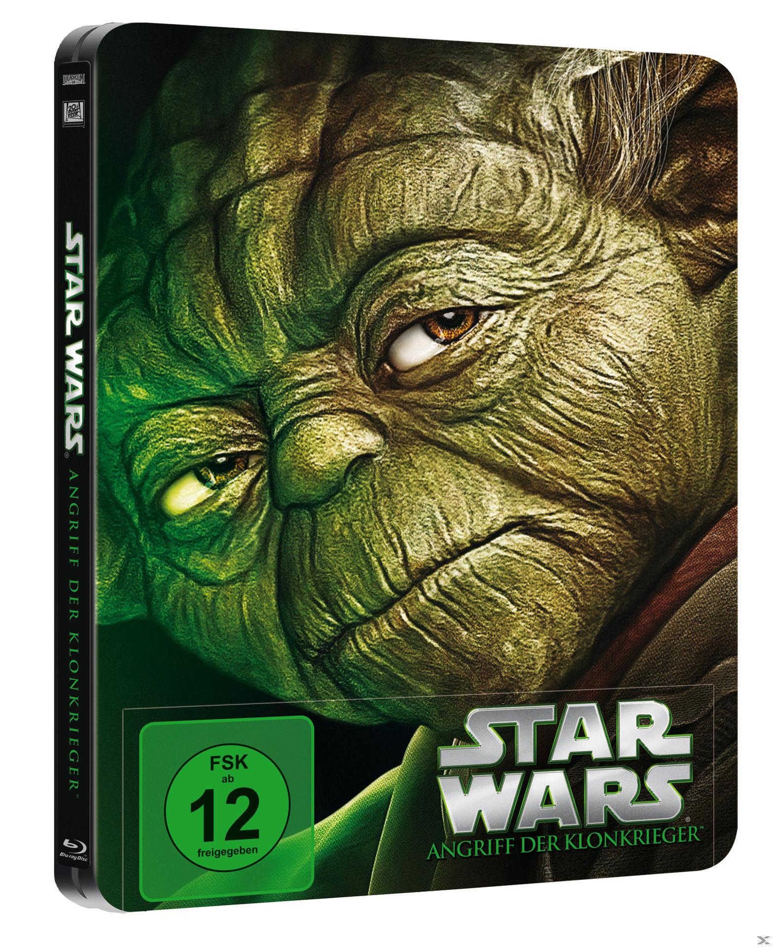 Star Wars: Episode II - Angriff der Klonkrieger Steelcase Edition (BLU-RAY) für 24,99 Euro
