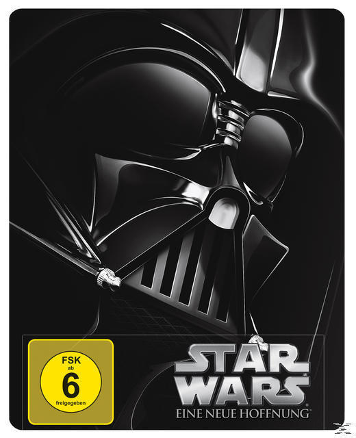 Star Wars: Episode IV - Eine neue Hoffnung Steelcase Edition (BLU-RAY) für 19,99 Euro