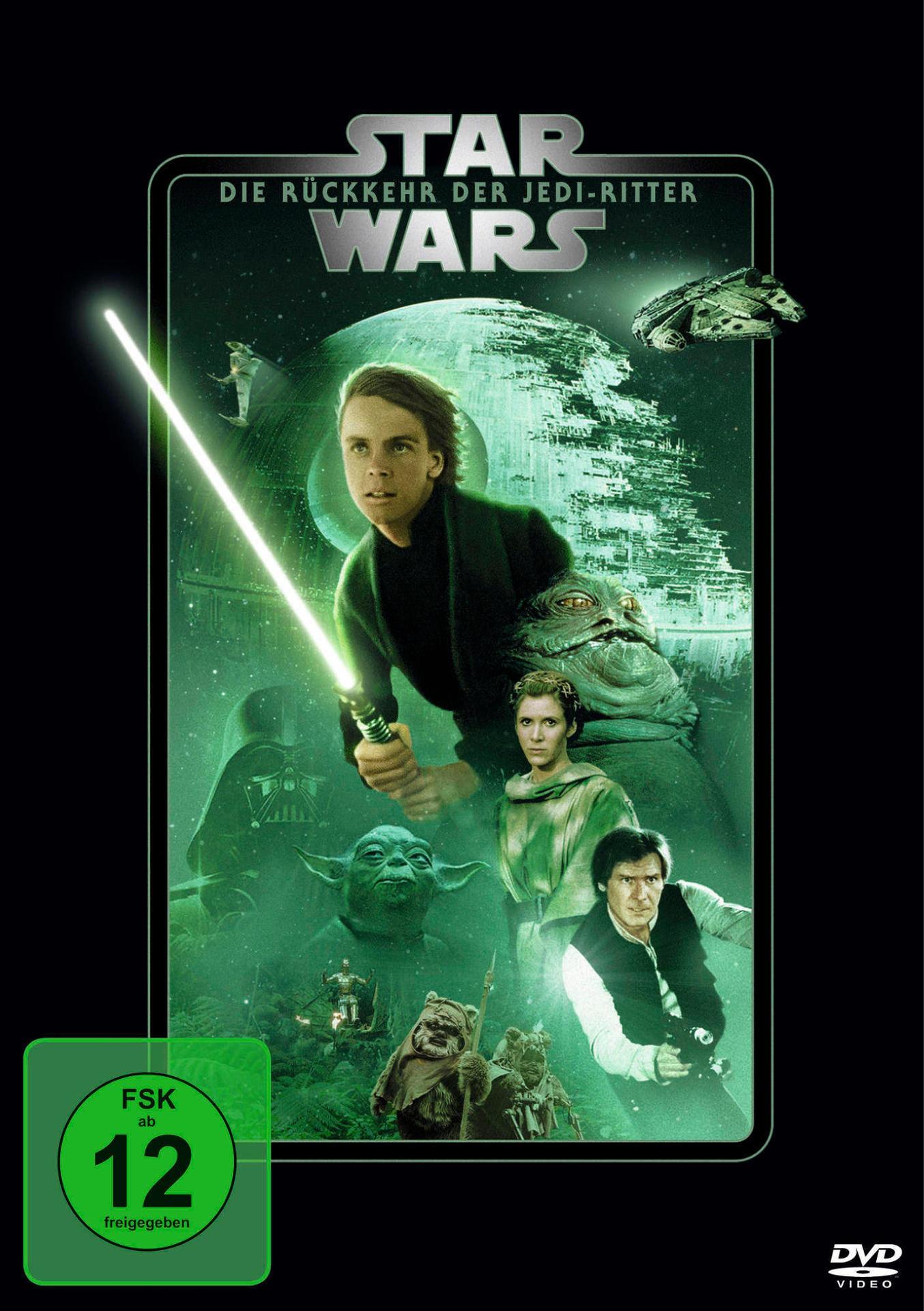 Star Wars: Episode VI - Die Rückkehr der Jedi-Ritter (DVD) für 7,99 Euro