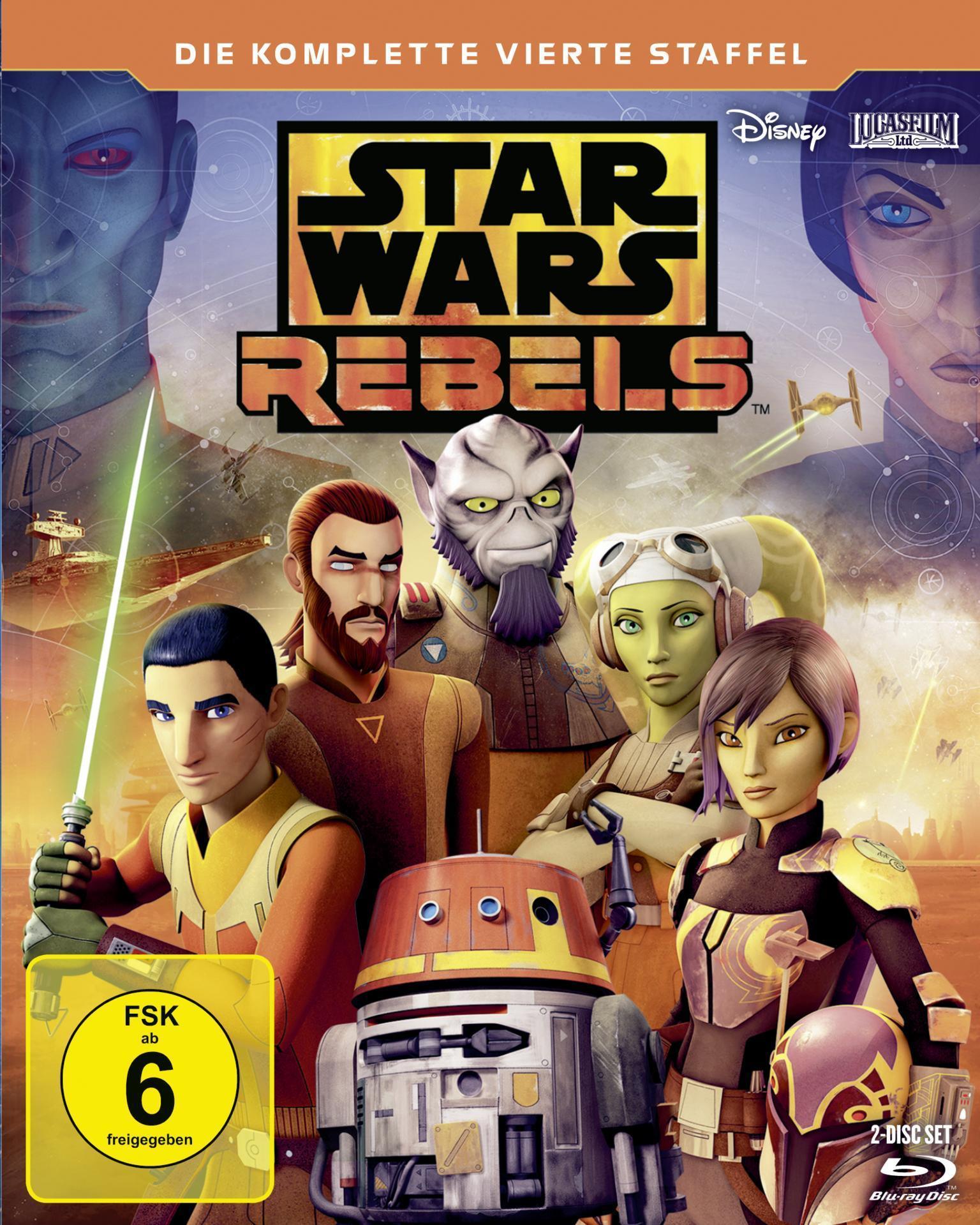 Star Wars Rebels - Staffel 4 (DVD) für 19,99 Euro