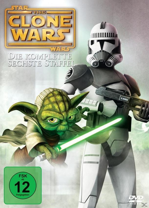Star Wars: The Clone Wars - Staffel 6 DVD-Box (DVD) für 12,99 Euro