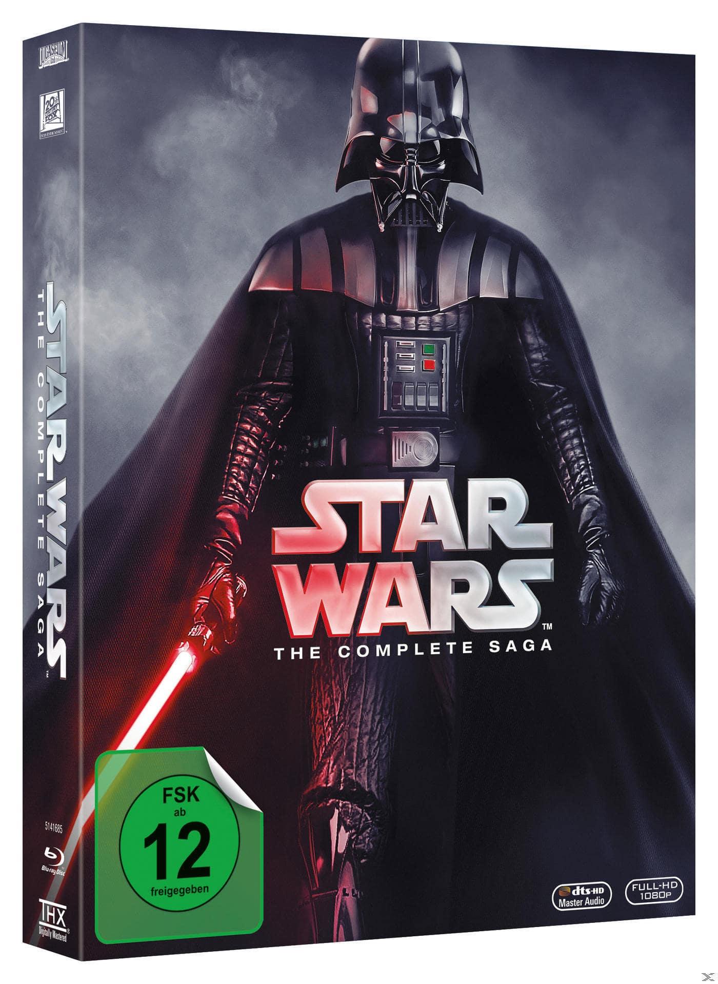Star Wars - The Complete Saga I-VI BLU-RAY Box (BLU-RAY) für 89,99 Euro