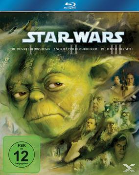 Star Wars Trilogie: Der Anfang - Episode I-III Bluray Box (BLU-RAY) für 38,99 Euro