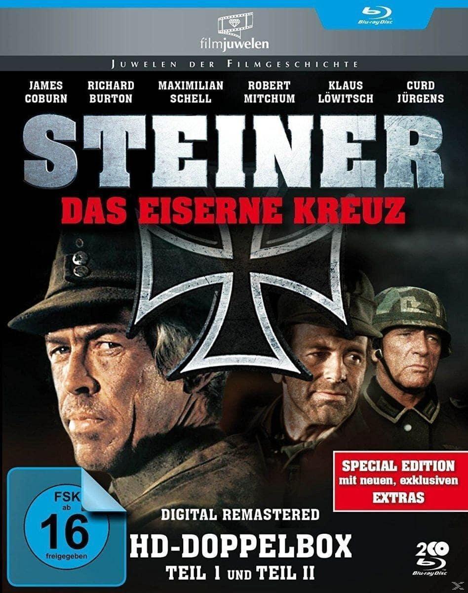 Steiner - Das Eiserne Kreuz - Teil 1 & 2 Anniversary Edition (BLU-RAY) für 21,99 Euro