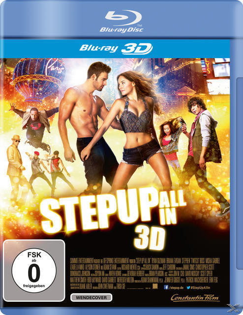 Step Up All in (Bluray 3D) für 15,00 Euro