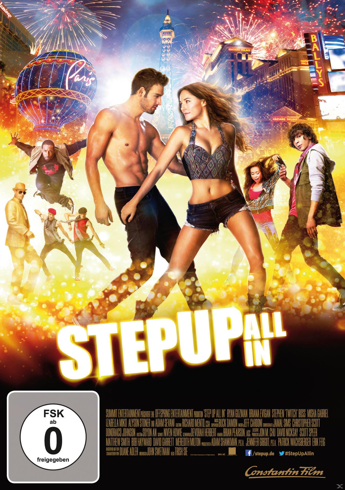 Step Up All in (DVD) für 7,99 Euro