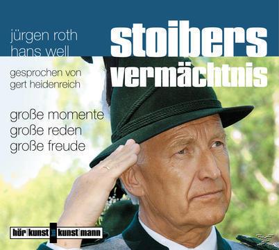 Stoibers Vermächtnis: Große Momente, große Reden, große Freude (CD(s)) für 10,49 Euro