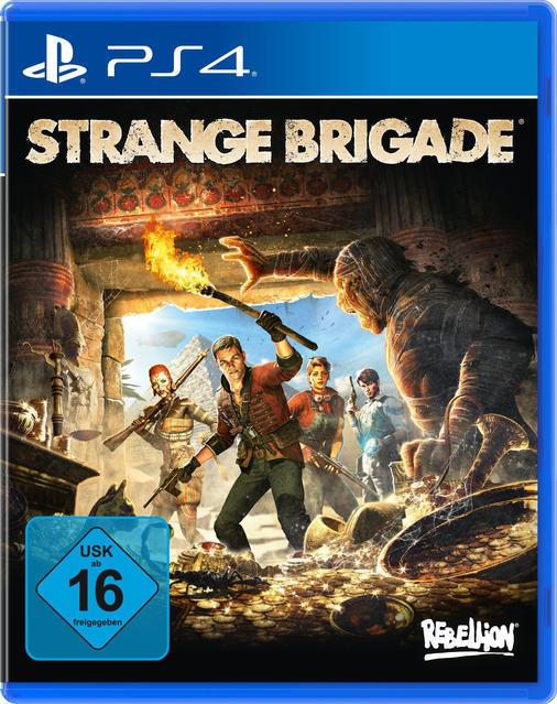 Strange Brigade (PlayStation 4) für 18,99 Euro