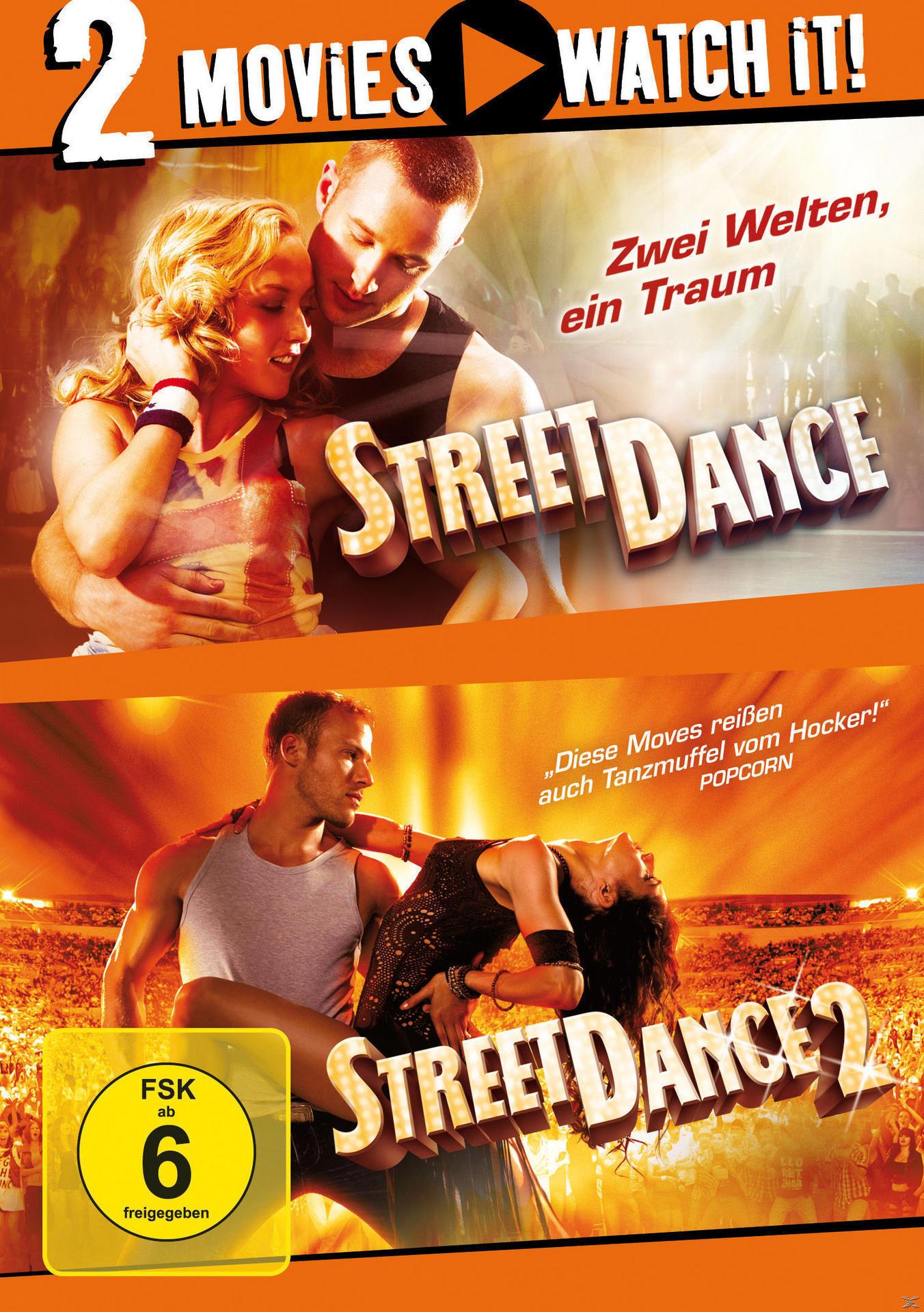 StreetDance 1 & 2 DVD-Box (DVD) für 9,99 Euro