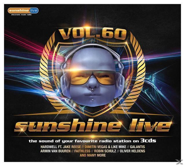 Sunshine Live 60 (VARIOUS) für 19,49 Euro