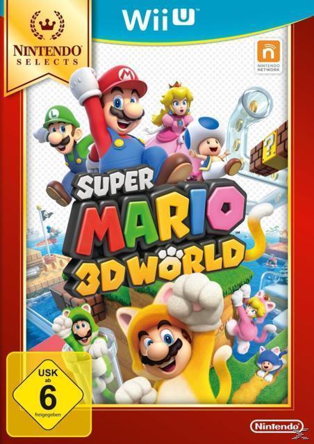 Super Mario 3D World (Nintendo Selects) (Nintendo Wii U) für 24,99 Euro