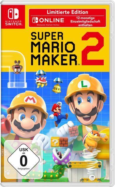 Super Mario Maker 2 - Limitierte Edition (Nintendo Switch) für 62,99 Euro