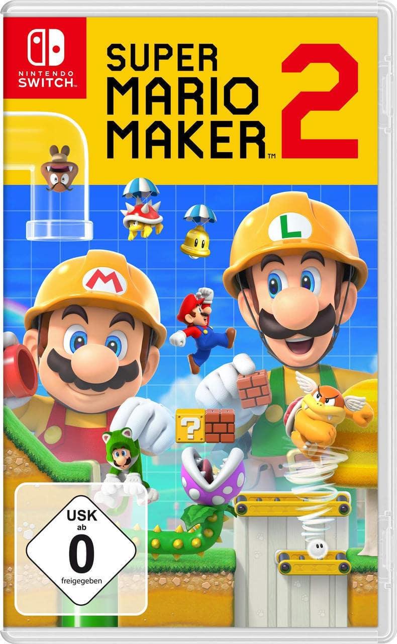 Super Mario Maker 2 (Nintendo Switch) für 49,99 Euro