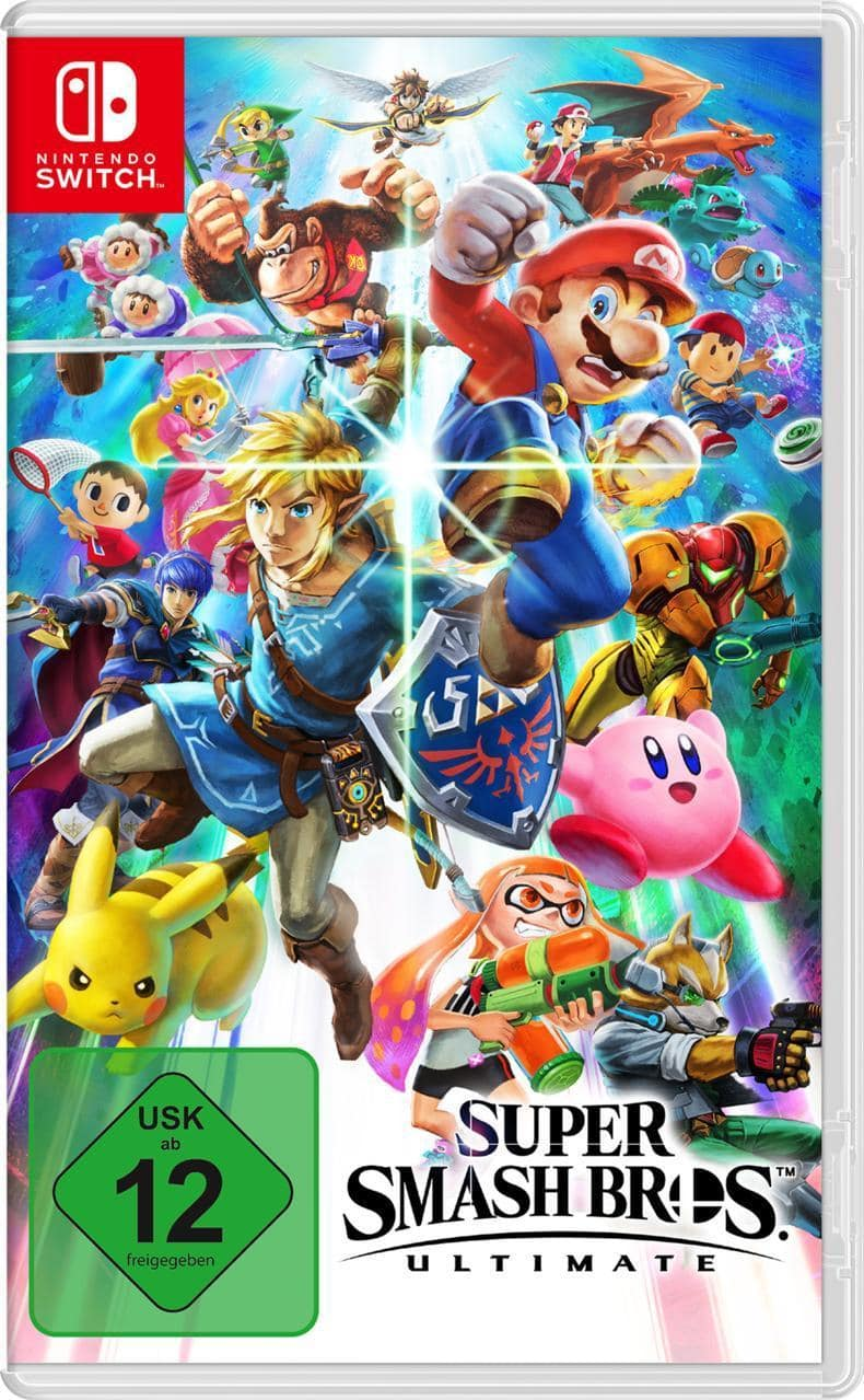 Super Smash Bros. Ultimate (Nintendo Switch) für 54,99 Euro