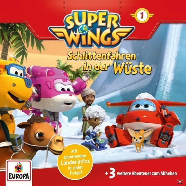 Super Wings (1) (CD(s)) für 4,99 Euro