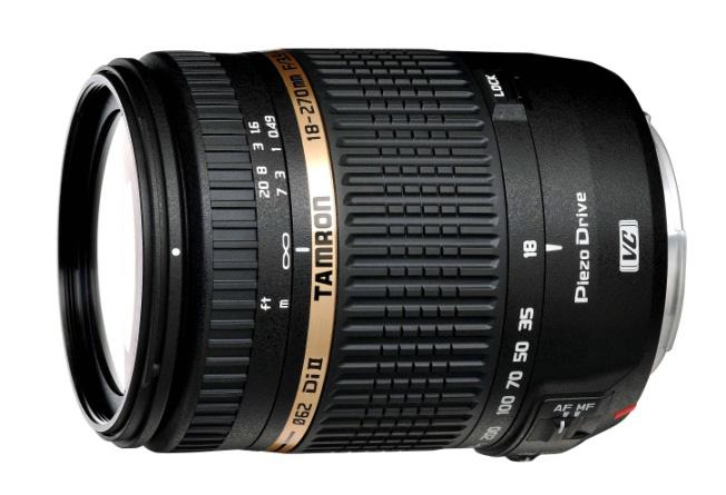 Tamron AF 18-270mm F/3.5-6.3 Di II VC PZD Nikon-Anschluß Objektiv für 299,00 Euro
