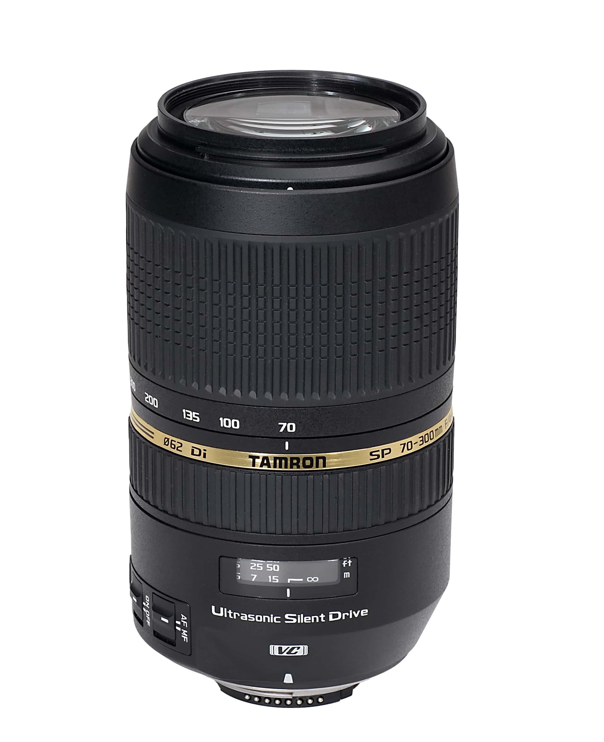 Tamron 70-300mm F/4,0-5,6 SP DI VC USD Nikon-Anschluss Zoomobjektiv für 329,00 Euro
