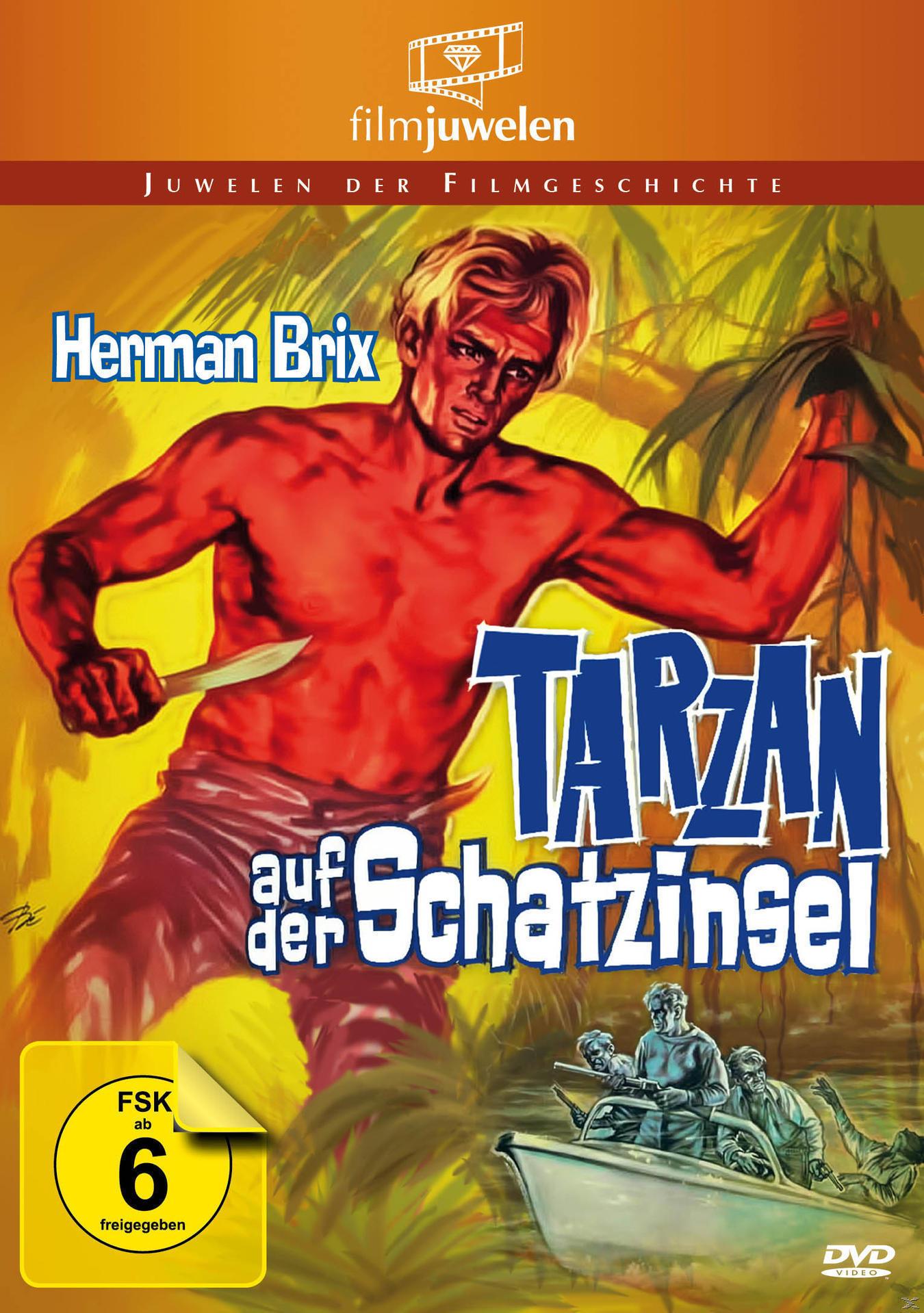 Tarzan auf der Schatzinsel Filmjuwelen (DVD) für 14,49 Euro