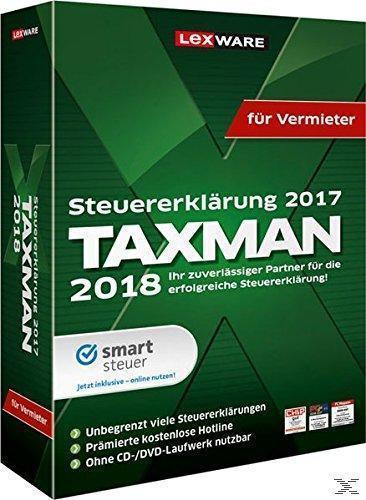TAXMAN 2018 für Vermieter (PC) für 39,00 Euro