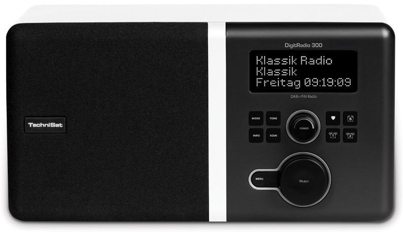 TechniSat DigitRadio 300 Radio DAB+ UKW RDS für 129,99 Euro
