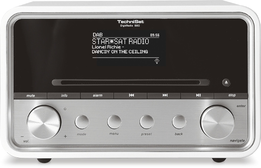 TechniSat DigitRadio 580 Internetradio DAB+ Bluetooth MP3-CD-Player USB für 319,99 Euro