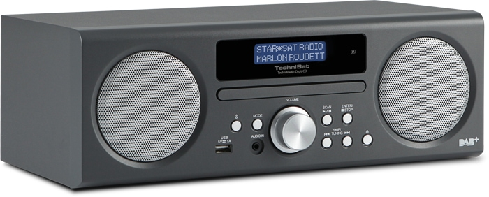 TechniSat TechniRadio Digit CD DAB-Radio CD-Player mit MP3-Funktion für 149,00 Euro