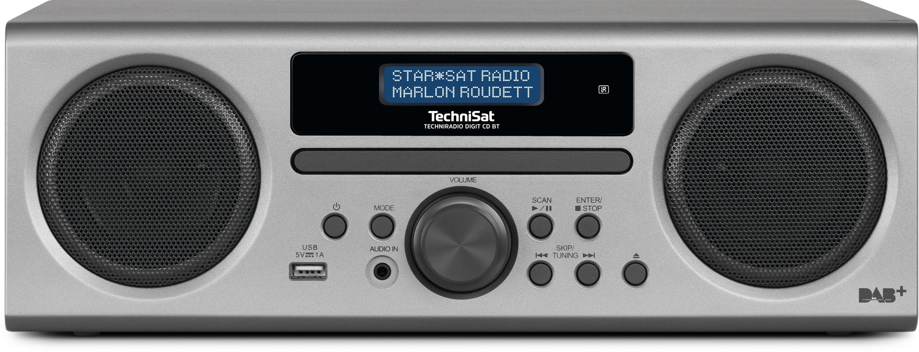 TechniSat TECHNIRADIO DIGIT CD BT DAB+/UKW Stereo-Radio 10W Bluetooth für 139,00 Euro