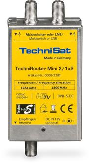 TechniSat TechniRouter Mini 2/1x2 PIN-Code-Technologie für 119,99 Euro