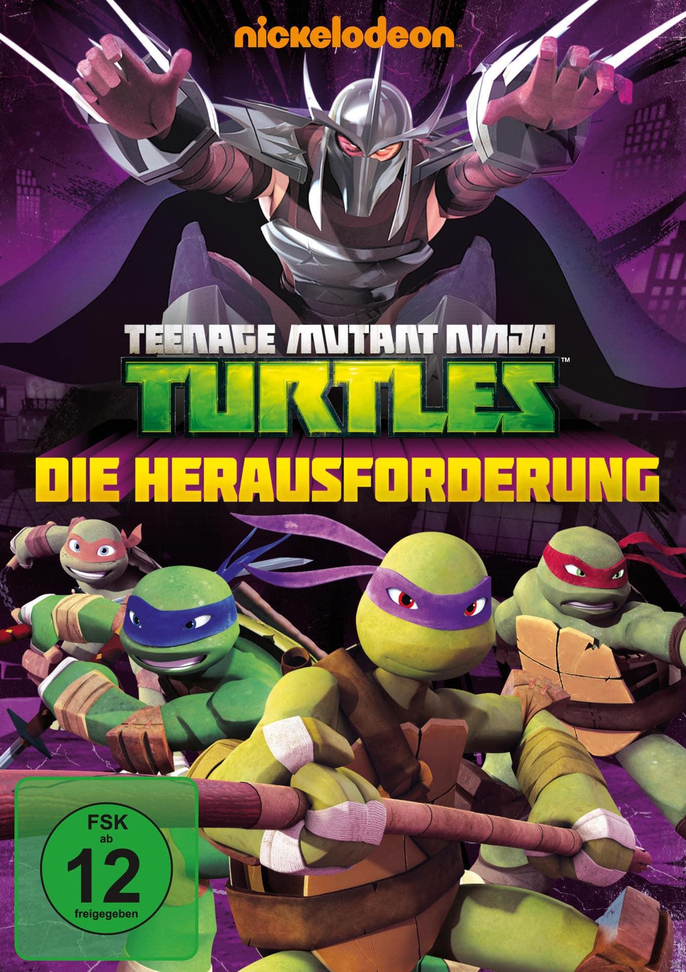 Teenage Mutant Ninja Turtles: Die Herausforderung (DVD) für 7,99 Euro