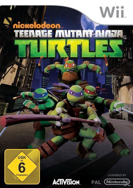 Teenage Mutant Ninja Turtles (Nintendo WII) für 29,99 Euro