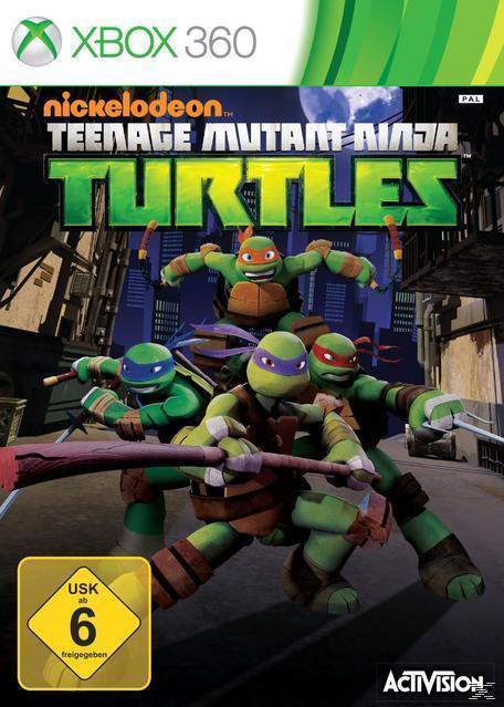 Teenage Mutant Ninja Turtles (XBox 360) für 29,99 Euro