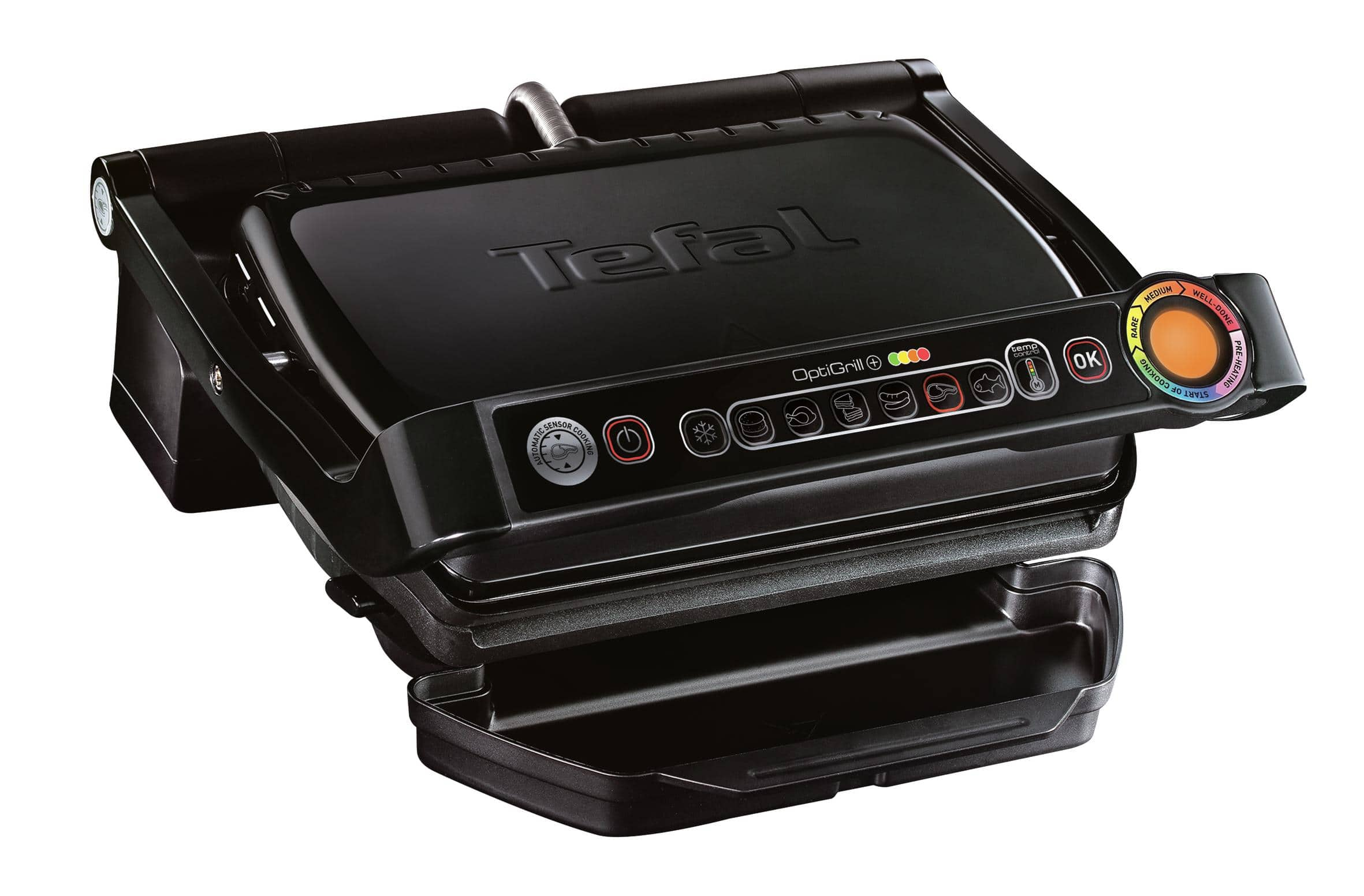 Tefal GC 7148 Optigrill+ Snacking & Baking Kontaktgrill 2000W Auto-Off für 111,00 Euro