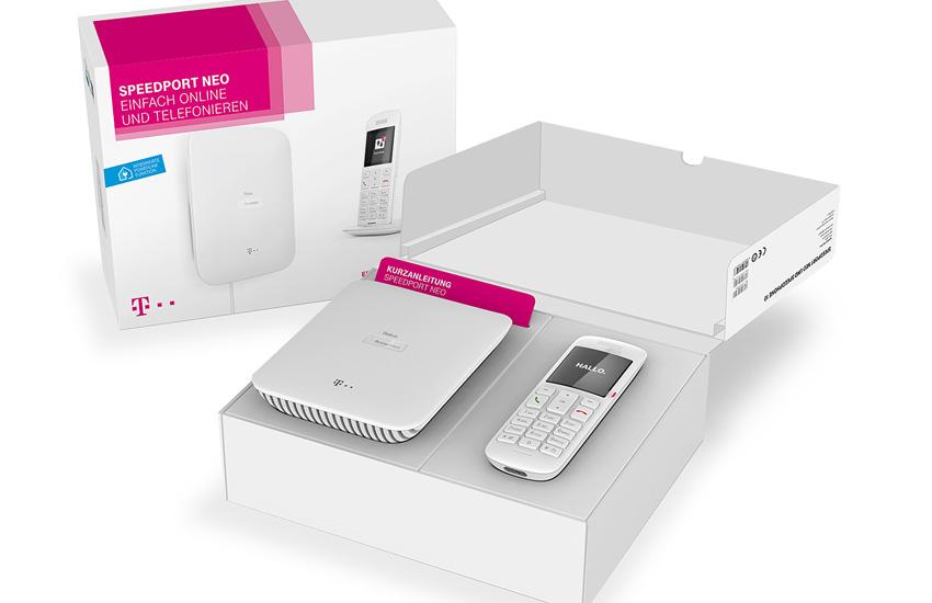 T-Mobile Speedport Neo Router inkl. Speedphone 10 IP-Schnurlosmobilteil für 129,99 Euro