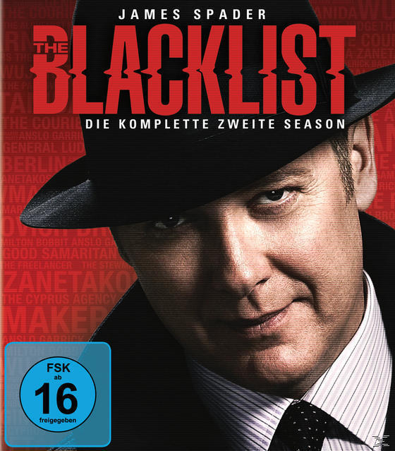 The Blacklist - Die komplette zweite Season Bluray Box (BLU-RAY) für 29,99 Euro